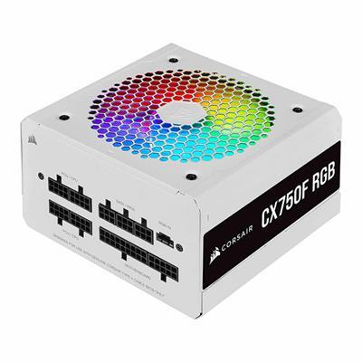 پاور 750 وات کورسیر CX750F RGB White Bronze Fully Modular