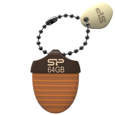 فلش مموری سیلیکون پاور مدل touch t30 ظرفیت 64 گیگابایت