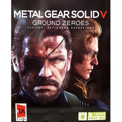بازی metal gear solid v مخصوص xbox 360