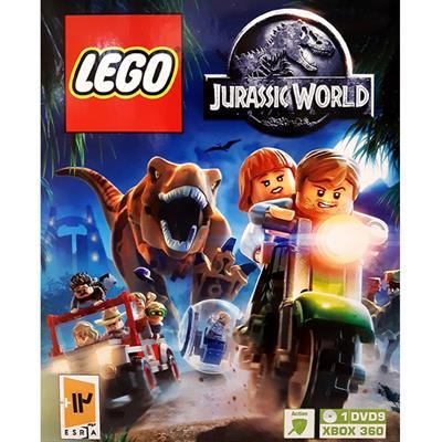 بازی lego jurassic world مخصوص xbox 360