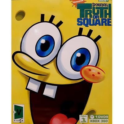 بازی spongebobamp39s truth or square مخصوص xbox 360