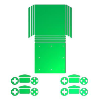 برچسب ماهوت مدل green color special مناسب برای کنسول بازی ps4 pro