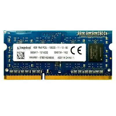 رم لپ تاپ ddr3 تک کاناله 1066 مگاهرتز cl11 کینگستون مدل 12800s ظرفیت 4 گیگابایت