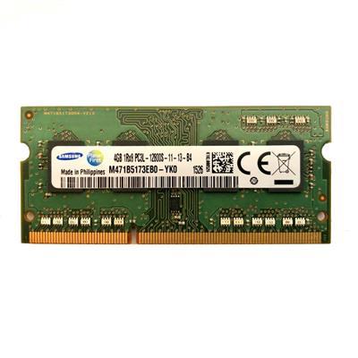 رم لپ تاپ ddr3l تک کاناله ۱۶۰۰ مگاهرتز cl11 سامسونگ مدل pc3l ظرفیت 4 گیگابایت