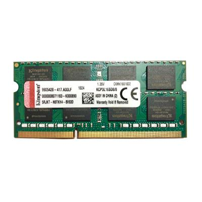 رم لپ تاپ ddr3l تک کاناله 12800 مگاهرتز cl11 كينگستون مدل pc3l 12800mz ظرفيت 4 گيگابايت