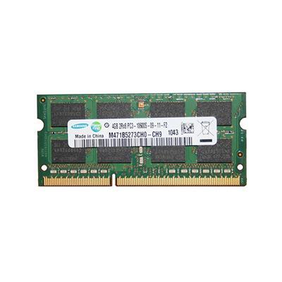 رم لپ تاپ ddr3 تک کاناله 1333 مگاهرتز 10600s سامسونگ مدل m471b5273ch0 ch9 ظرفیت 4 گیگابایت