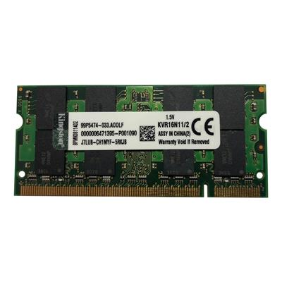 رم لپ تاپ کینگستون مدل ddr3 1600mhz ظرفیت 2 گیگابایت
