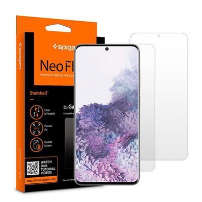محافط صفحه نمایش اسپیگن مدل neo flex hd مناسب برای گوشی موبایل سامسونگ galaxy s20 plus