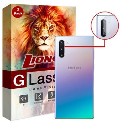 محافظ لنز دوربین لایونکس مدل utfs مناسب برای گوشی موبایل سامسونگ galaxy note10 بسته سه عددی