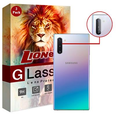 محافظ لنز دوربین لایونکس مدل utfs مناسب برای گوشی موبایل سامسونگ galaxy note10 بسته دو عددی