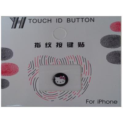 محافظ دکمه هوم طرح cat kitty کد 1112 مناسب برای گوشی موبایل اپل