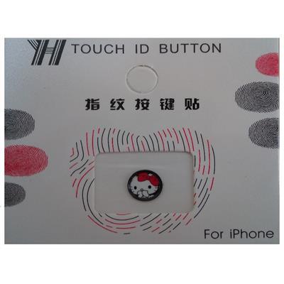 محافظ دکمه هوم طرح hello kitty کد 1117 مناسب برای گوشی موبایل اپل