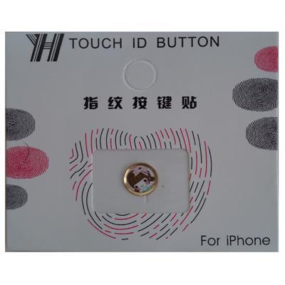 محافظ دکمه هوم طرح bow tie girl کد 1115 مناسب برای گوشی موبایل اپل