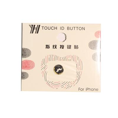 محافظ دکمه هوم طرح سبیل مناسب برای گوشی موبایل اپل