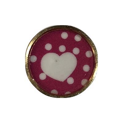 محافظ دکمه هوم مدل heart مناسب برای گوشی موبایل اپل