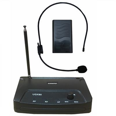 میکروفن بی سیم هدستی شور مدل ugx 90h