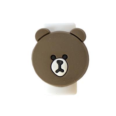 محافظ کابل شارژر مدل bear brown