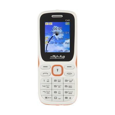 گوشی موبایل جی ال ایکس مدل C48 دو سیم کارت