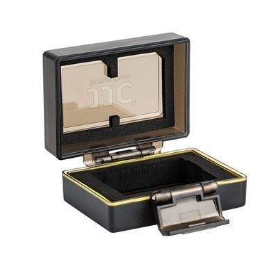 کیف محافظ باتری و کارت حافظه جی جی سی مدل bc npfw50 مناسب برای دوربین سونی fw50