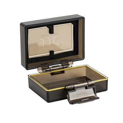 کیف محافظ باتری و کارت حافظه جی جی سی مدل bc lpe6 مناسب برای دوربین canon lp e6