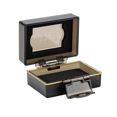 کیف محافظ باتری و کارت حافظه جی جی سی مدل bc 2xqd1 مناسب برای باتری دوربین نیکون en el15