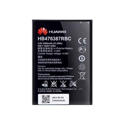باتری موبایل مدل hb476387rbc ظرفیت 3000 میلی آمپر ساعت مناسب برای گوشی موبایل آنر 3xg750