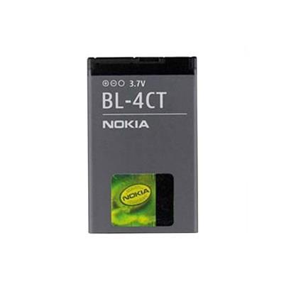 باتری موبایل مدل bl 4ct ظرفیت 860 میلی آمپر ساعت مناسب برای گوشی موبایل نوکیا 5310