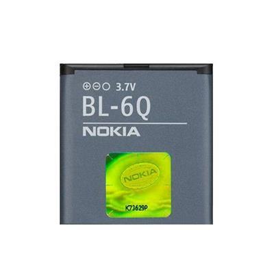 باتری موبایل مدل bl 6q ظرفیت 970 میلی آمپر ساعت مناسب برای گوشی موبایل نوکیا 6700 classic