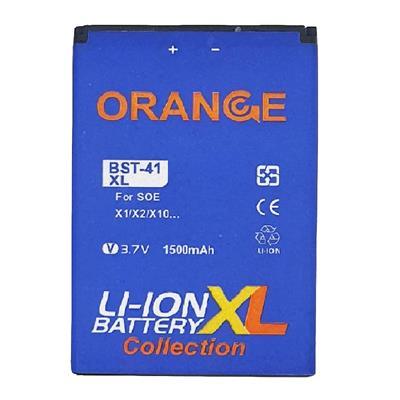 باتری موبایل مدل bst 41 ظرفیت 1500 میلی آمپر ساعت مناسب برای گوشی موبایل سونی اریکسون xperia x10