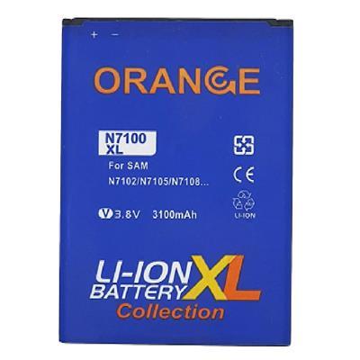 باتری موبایل مدل n7100 xl ظرفیت 3100 میلی آمپر ساعت مناسب برای گوشی موبایل سامسونگ galaxy note 2