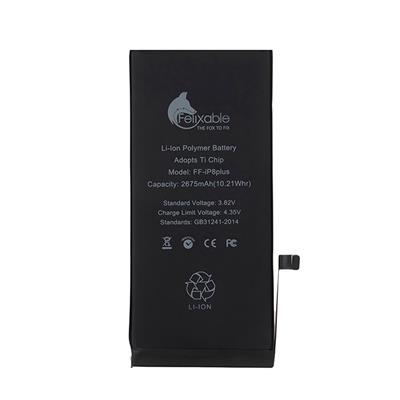 باتری موبایل فلیکسبل مدل ff ip8p ظرفیت 2675 میلی آمپر ساعت مناسب برای گوشی موبایل اپل iphone 8 plus