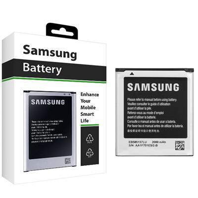 باتری موبایل مدل eb 585157lu با ظرفیت 2000mah مناسب برای گوشی موبایل سامسونگ galaxy core 2