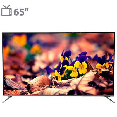 تلویزیون ال ای دی هوشمند آوکس مدل at6519ks سایز 65 اینچ