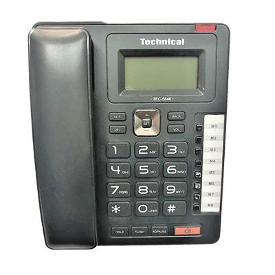 تلفن تکنیکال مدل tec 5846