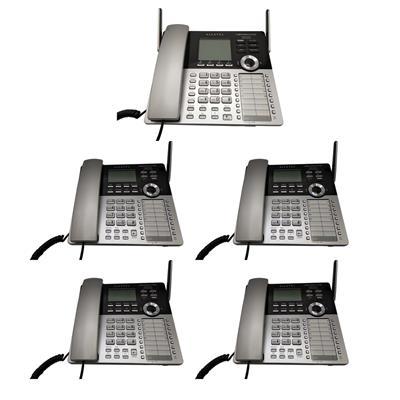 تلفن سانترال آلکاتل مدل xps 4100 بسته 5 عددی