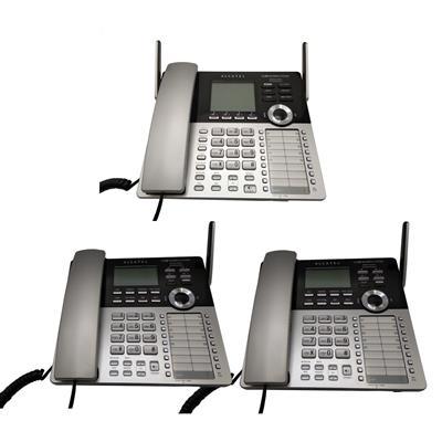 تلفن سانترال آلکاتل مدل xps 4100 بسته 3 عددی