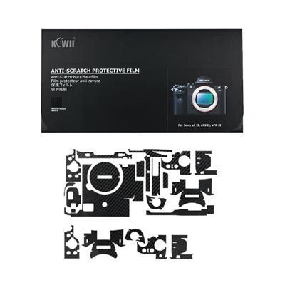برچسب پوششی کی وی مدل ks a7m2cf مناسب برای دوربین عکاسی سونی a7ii a7sii a7rii