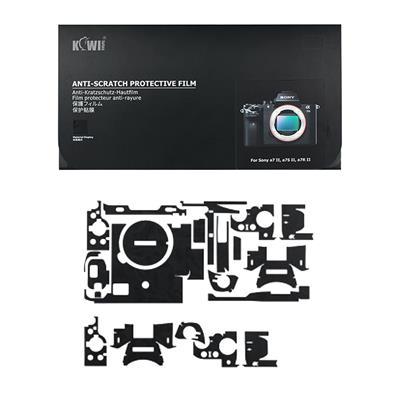 برچسب پوششی کی وی مدل ks a7m2sk مناسب برای دوربین عکاسی سونی a7ii a7sii a7rii