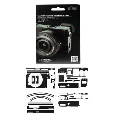 برچسب پوششی کی وی مدل ks a6400l مناسب برای دوربین عکاسی سونی a6400