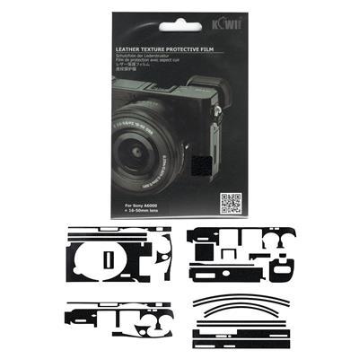 برچسب پوششی کی وی مدل ks a6000l مناسب برای دوربین عکاسی سونی a6000
