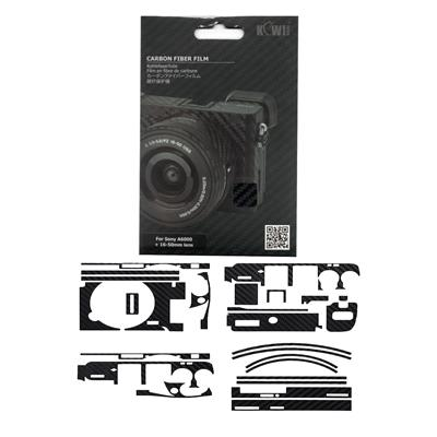 برچسب پوششی کی وی مدل ks a6000cf مناسب برای دوربین عکاسی سونی a6000