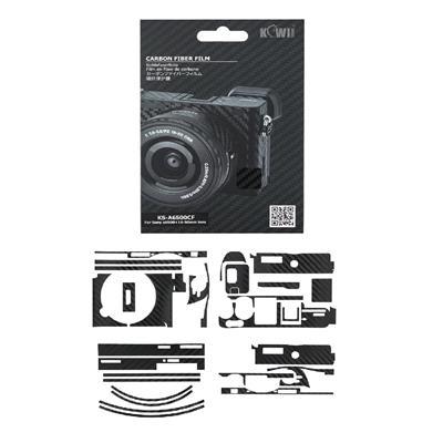 برچسب پوششی کی وی مدل ks a6500cf مناسب برای دوربین عکاسی سونی a6500