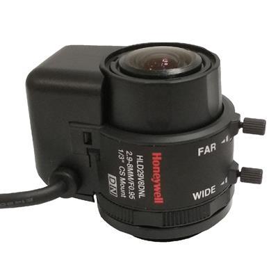لنز دوربین مداربسته هانیول مدل hld29v8dnl