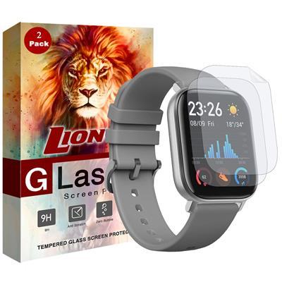 محافظ صفحه نمایش نانو لایونکس مدل fsp مناسب برای ساعت هوشمند شیائومی huami amazfit gts بسته دو عددی