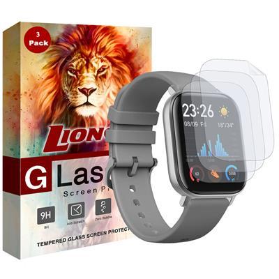 محافظ صفحه نمایش نانو لایونکس مدل fsp مناسب برای ساعت هوشمند شیائومی huami amazfit gts بسته سه عددی