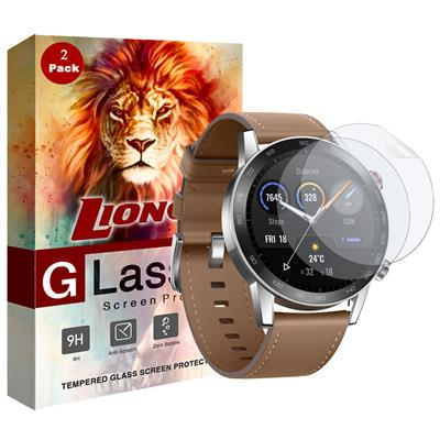 محافظ صفحه نمایش نانو لایونکس مدل fsp مناسب برای ساعت هوشمند آنر magic watch بسته دو عددی