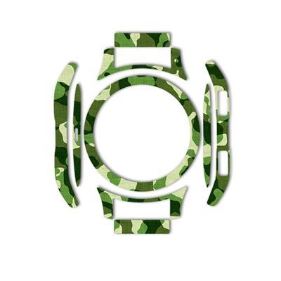 بسته 2 عددی برچسب ماهوت مدل army pattern design مناسب برای ساعت هوشمند samsung galaxy watch 46mm