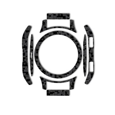 بسته 2 عددی برچسب ماهوت مدل silicon texture مناسب برای ساعت هوشمند samsung galaxy watch 46mm