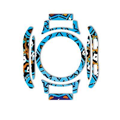 بسته 2 عددی برچسب ماهوت مدل slimi design tile design مناسب برای ساعت هوشمند samsung galaxy watch 46mm