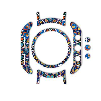 بسته 2 عددی برچسب ماهوت مدل imam reza shrine tile design مناسب برای ساعت هوشمند lg watch sport